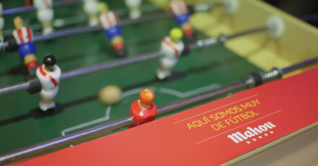 1º female table football